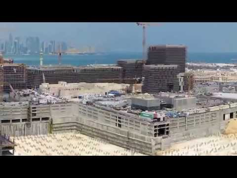 Time Lapse of Msheireb Downtown Doha