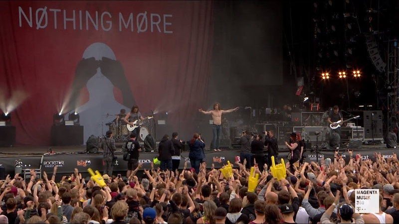 Nothing More Don t Stop Live at Rock am Ring