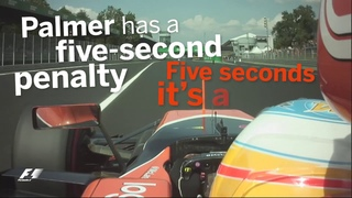 Alonso Rages At Palmer In Italy | F1 Best Team Radio 2017