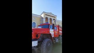 В Горно-Алтайске в  здании Дома культуры прошло пожарно-тактическое учение