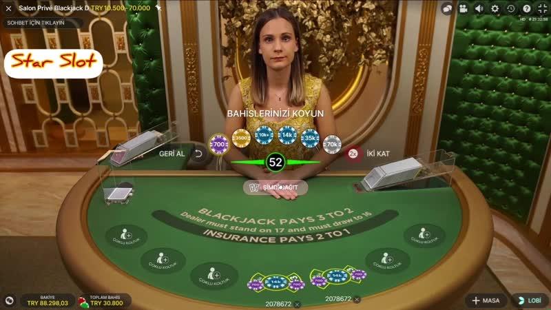 Casino Sarayi - BLACKJACK - VİP MASA ALEV ALEVV KASA 150 K OLDU! SLOT CASİNO ROULETTE RULET BLACKJACK