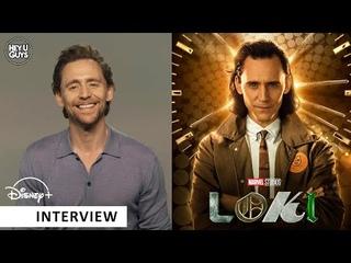 Tom Hiddleston on Loki Season 1 - the biggest new chapter in the Avengers story