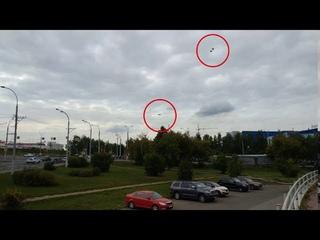 3 реальных НЛО в одном месте!!! 3 real UFOs in one place!!!