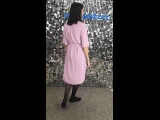 Чудесный вариант на жаркую погоду! Платье свободного силуэта - очень комфортно при носке