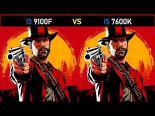 i3 9100f vs i5 7600k - RTX 2060 Super - Gaming Comparisions