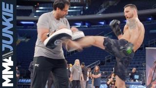 #UFC230: Открытая тренировка Криса Вайдмана