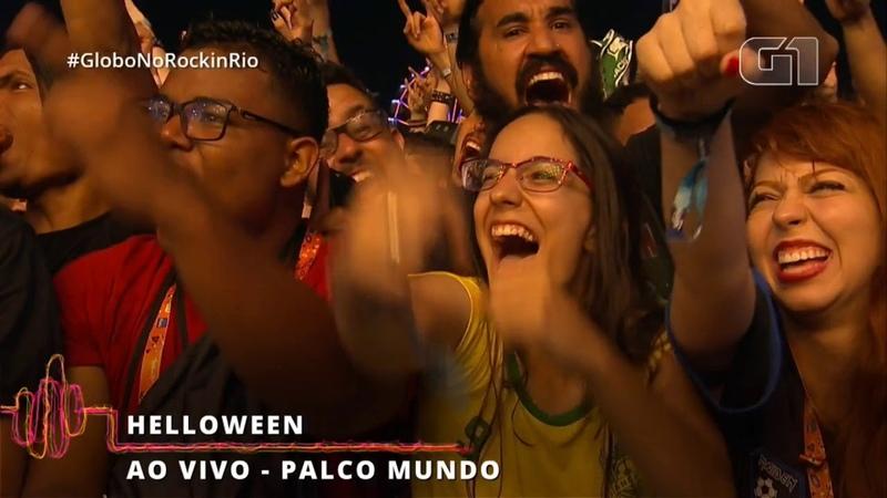Helloween Rock In Rio Brazil 2019