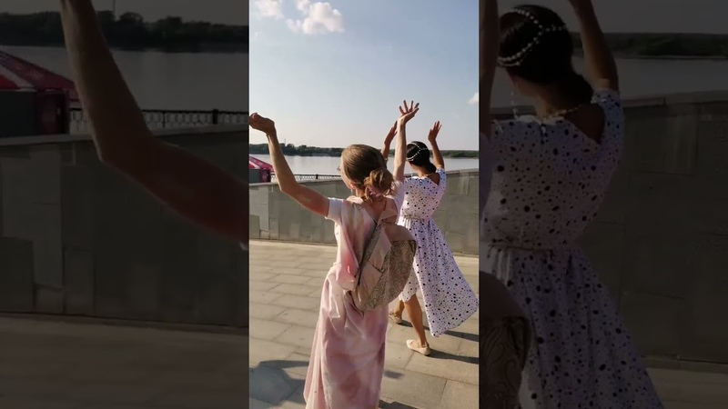 Харинама 19 07 2021 в Перми с Гаджа Хантой пр Harinama 07 19 2021 in Perm with Gadzha Khanta pr