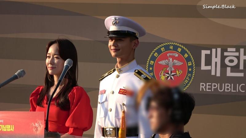 190928 제69주년 서울수복 기념행사 민호의 사랑하는 눈빛
