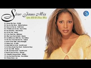 BEST 90S & 2000S SLOW JAMS MIX   R. Kelly, Boyz II Men, Fodeci, Chris Brown, Monica & More