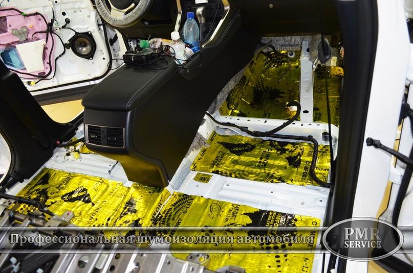 Комплексная шумоизоляция Lexus NX 200, изображение №3