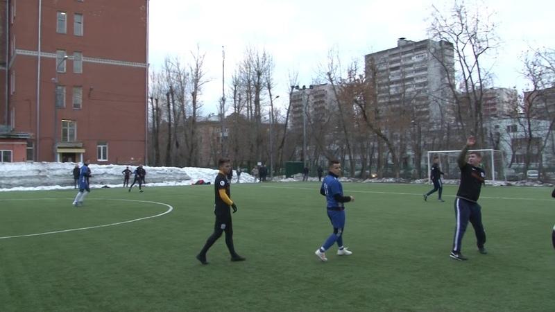 23 03 2019 ЛФЛ СВАО 2В лиги 26 тур Deerkalyan 2 6 Голеон