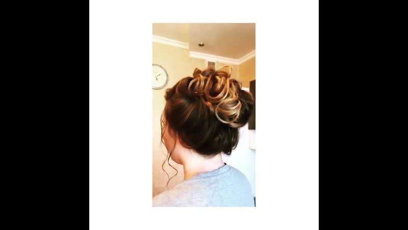 Hairdo for Anastasia Karpova
