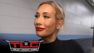 Carmella is confident heading into her clash with Sasha Banks: TLC Exclusive, Dec. 20, 202..