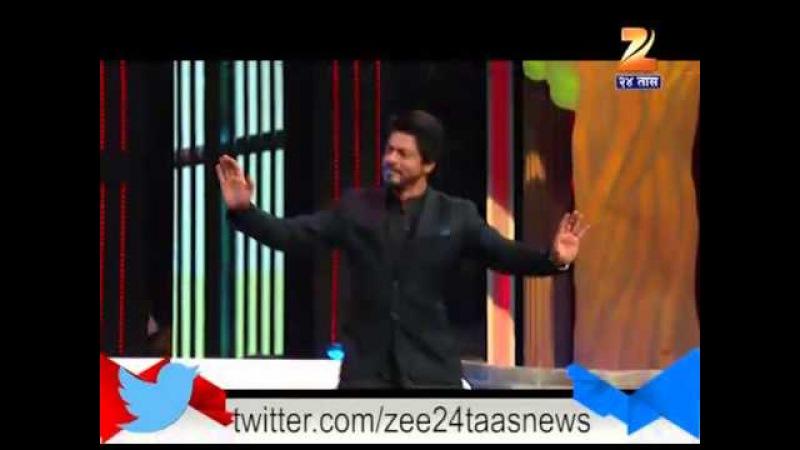 Sharukh Khan Dances On Shanta Bai On Sets Of Chala Hawa Yeu Dya 7th April 2016