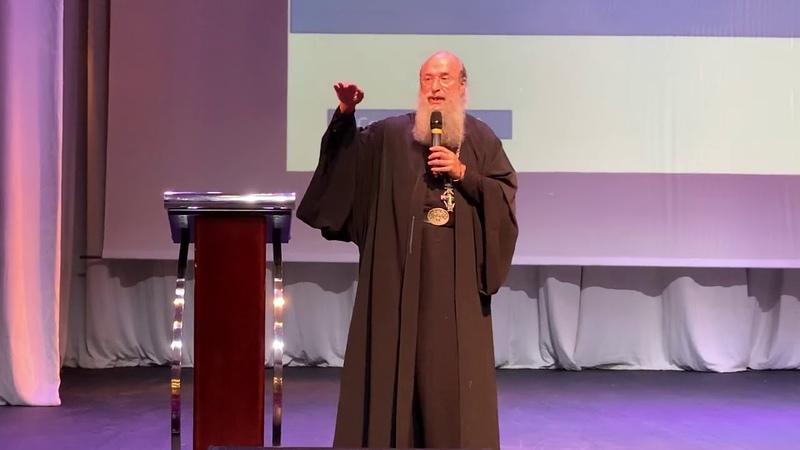 Беседа архимандрита Мелхиседека Артюхина о счастье в КЦ Вдохновение