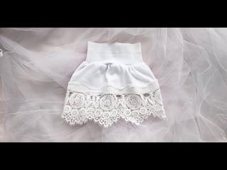 Как сшить юбку для девочки быстро и без выкройки