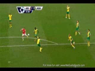 Arsenal One-Touch Teleportation Goal - Like a Son Goku