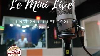 Le Mini Live de Christophe Jacob du 26 Juillet 2021