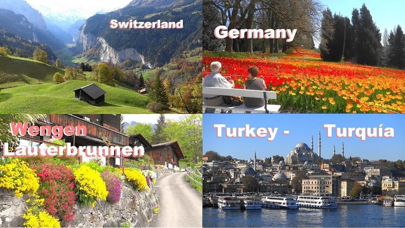 SWITZERLAND Turkey Turquia WENGEN LAUTERBRUNNEN GRINDELWALD Constance Suiza Alemania