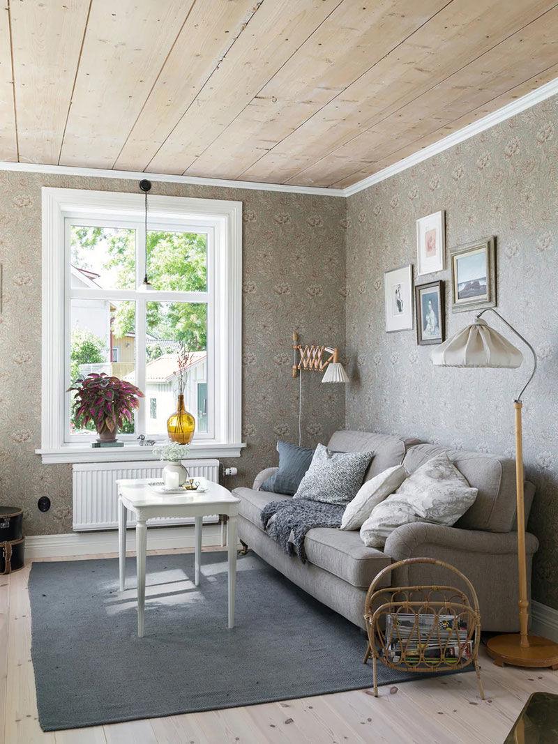 Скандинавская дача с нежным и душевным декором