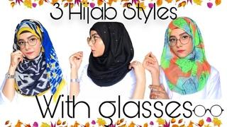 Hijab Tutorial For Glasses || Areesha