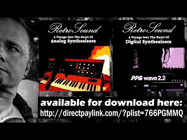 RetroSound Analog Digital Synthesizer Music