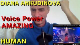 DIANA ANKUDINOVA HUMAN ! NEW REACTION ! Subtitle !