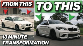 BUILDING THE BMW M2 IN 13 MINUTES!
