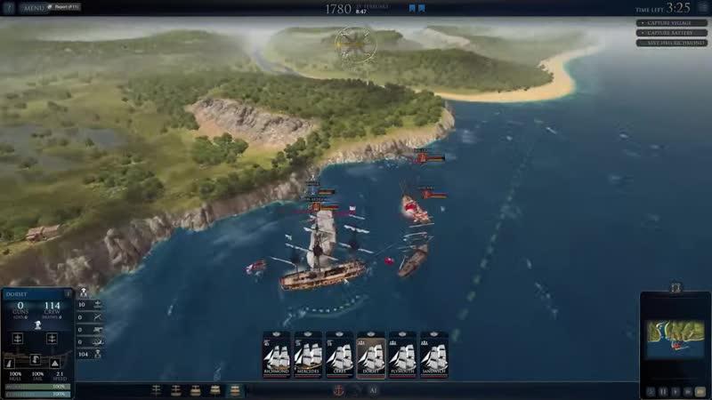 JeKaa Ultimate Admiral Age of Sail прохождение 1 И розыгрышь с информацией в описании