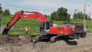 Ремонт дороги на Подсинее: в работу вмешался оползень - Абакан 24
