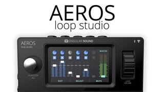 This Changes Everything for Musicians Using Looper Pedals: Presenting the Aeros Loop Studio