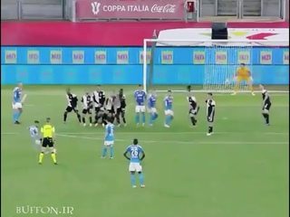 Giauigi Buffon vs Napoli