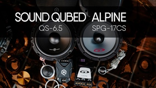 SOUND QUBED QS-6.5 vs Alpine SPG-17CS