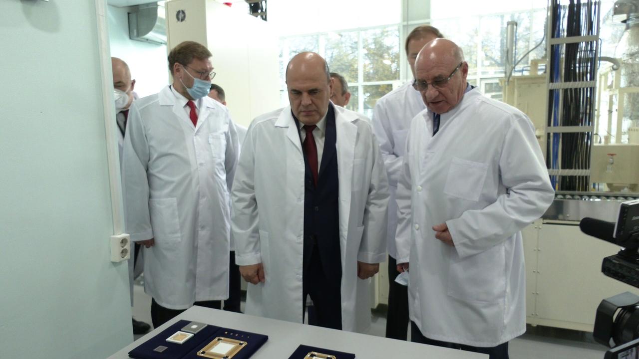 Михаил Мишустин обсудил вопросы развития электронной промышленности в Марий Эл