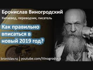 Бронислав Виногродский - как правильно вписаться в новый 2019 год