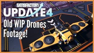 Блог Разработчиков: Как работают дроны в Satisfactory (со старыми футажами)