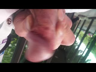 DICKFLASH AND CUMSHOT FOR KOREAN BEAUTY2