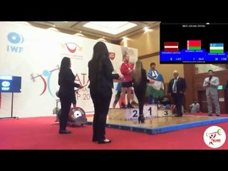 Андрей Арямнов (BLR) - Men 109kg, IWF 5th International Qatar Cup, Doha 2018
