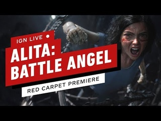 Alita: Battle Angel Red Carpet - IGN Live