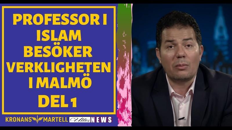 Malmöpolisen Del 1 erkänner kapitulationen till en fd muslim och professor