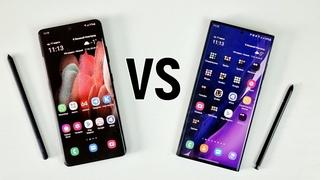 Galaxy S21 Ultra VS Galaxy Note 20 Ultra: трудный выбор!