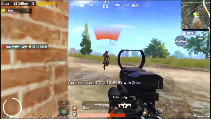 Tacaz The reason why GROZA is KING of The AR Weapons PUBG MOBILE