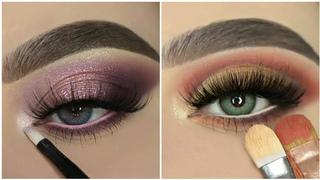 Melhores Tutoriais de Maquiagem para os Olhos😍 |Inspiração| #40💜New Eye Makeup Trends 2021