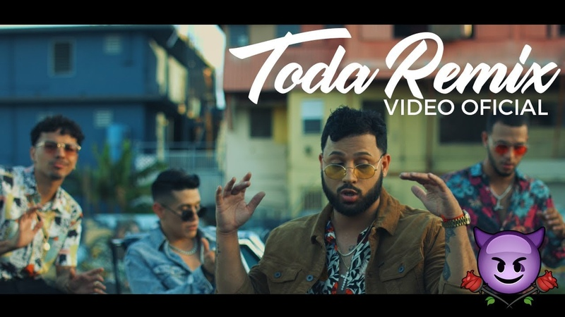 Alex Rose Toda Remix Ft Cazzu Lenny Tavarez Lyanno Rauw Alejandro Video Oficial