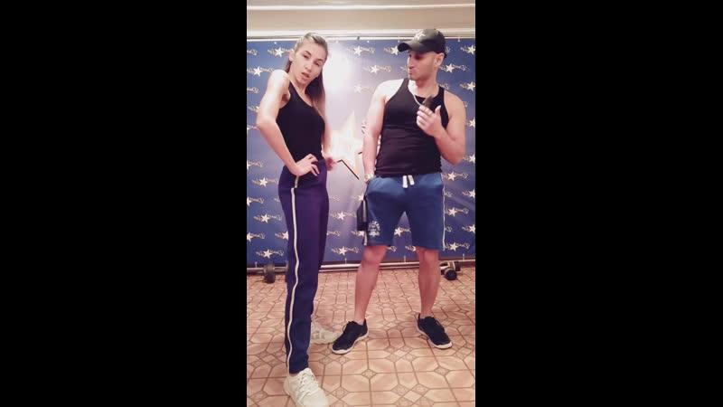 DANCE and LIVE   Бачата в Самаре   Денис Новиков и Анастасия Павленко   Оставайся дома   Самара   2020НашДомСамара🔥Трансляц