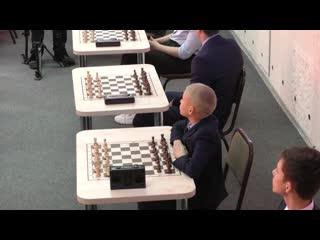 Открытие шахматного класса в школе № 8 города Ишима
