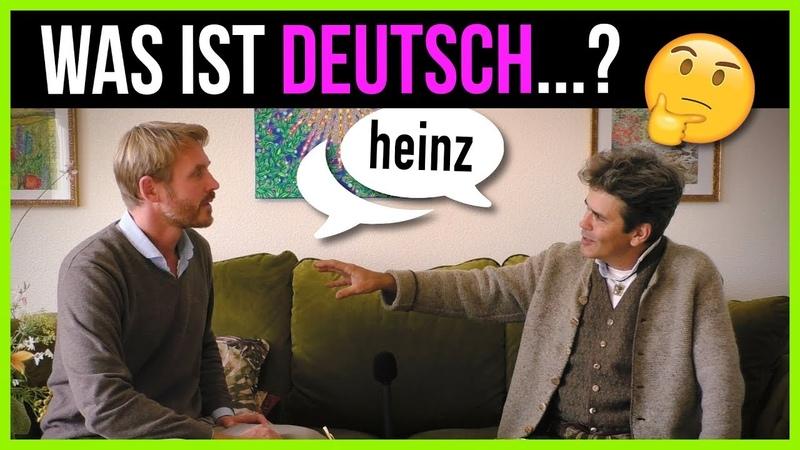 Was ist deutsch? Heinz Christian Tobler IM GESPRÄCH