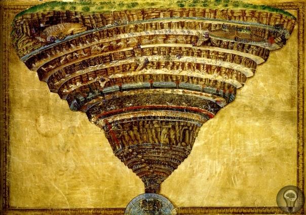 Д/ф Ад Боттичелли Cандро Боттичелли оживил мир Ада Данте в ста двадцати тщательно выведенных рисунках. В центре композиции - Карта Ада, подобие путеводителя по его тёмным кругам. Веками