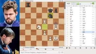 Карлсен - Раджабов. Champions Chess Tour: FTX Crypto Cup 2021 | Полуфинал
